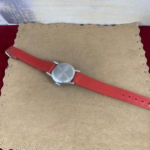 Vintage Accessories - Vintage Original Hand Wind Orphan Annie Red Watch